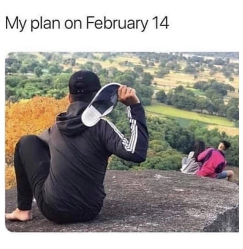 Photography - My plan on February 14
