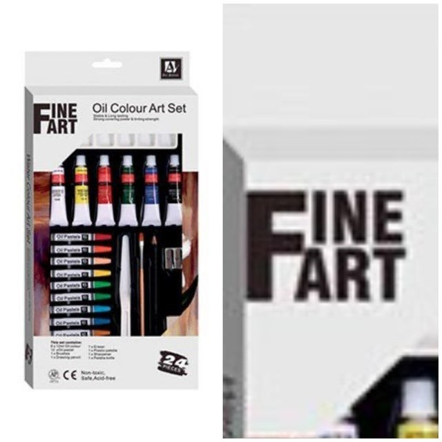 Product - INE Oil Colour Art Set ART CINE ÄRT F 24 Nonic CE