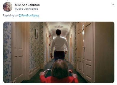 Room - Julie Ann Johnson @Julie Johnsoned Replying to @ PeteButtigieg