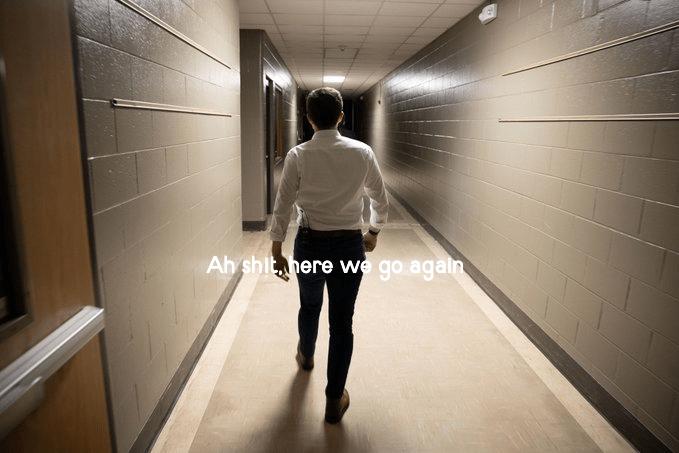 Standing - Ah shit, here we go again
