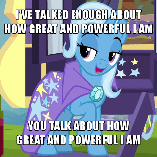 the great and powerful trixie screencap on the road to friendship - 9430637568