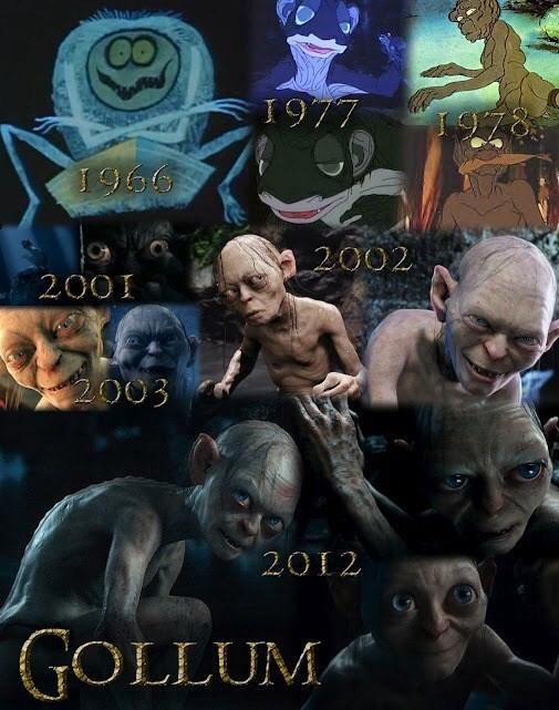 Movie - 00 1977 1978 1966 2002 2001 2003 2012 GOLLUM«