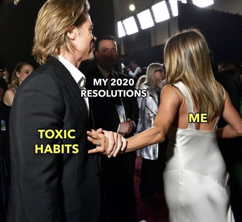 Dress - MY 2020 RESOLUTIONS ME TOXIC HABITS