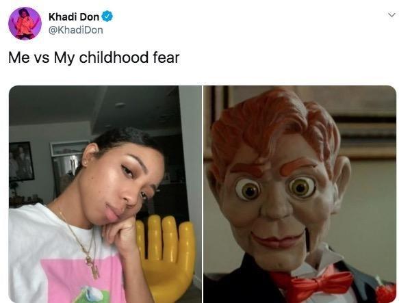 Face - Khadi Don @KhadiDon Me vs My childhood fear