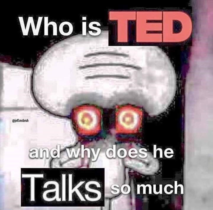 Text - Who is TED @jettmcbruh and why does he Talks KS So much