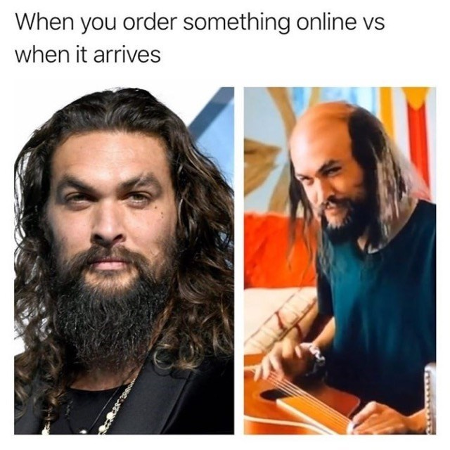 Hair - When you order something online vs when it arrives