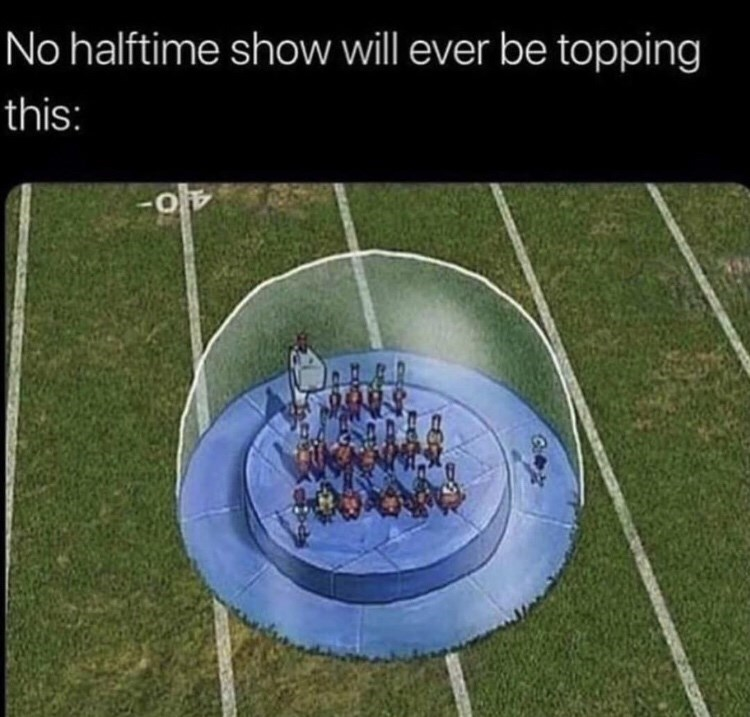 Sport venue - No halftime show will ever be topping this: