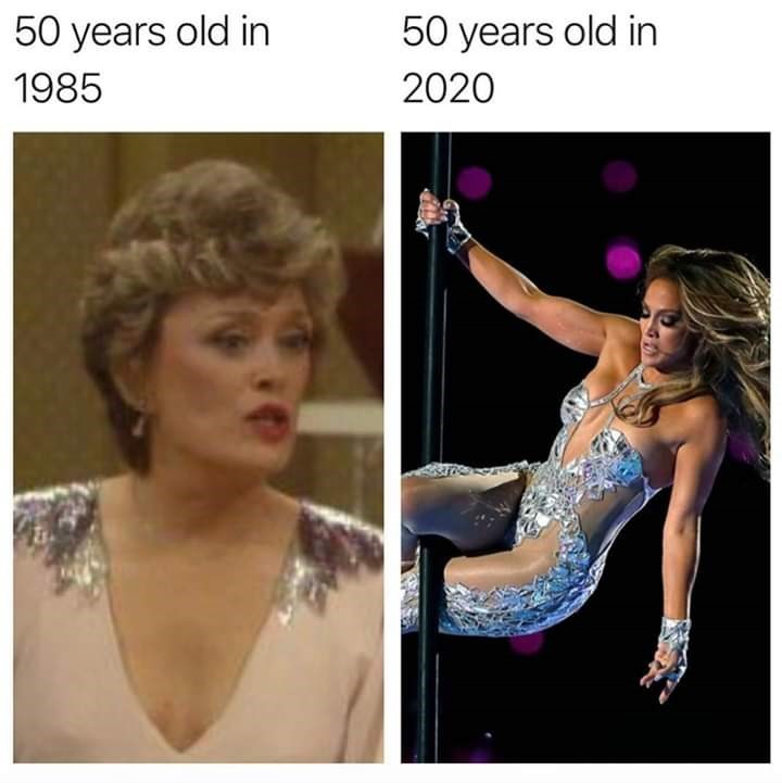 Hair - 50 years old in 50 years old in 1985 2020