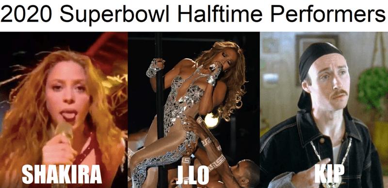 Photo caption - 2020 Superbowl Halftime Performers SHAKIRA KIP J.LO