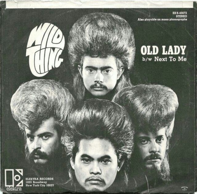 Hair - EKS-45672 STEREO Also playable on mono phonographs OLD LADY b/w Next To Me ELEKTRA RECORDS 1855 Broadway New York City 10023 elektra