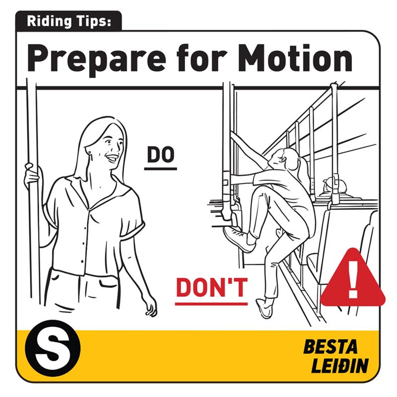 White - Riding Tips: Prepare for Motion DO DON'T BESTA LEIÐIN 8|
