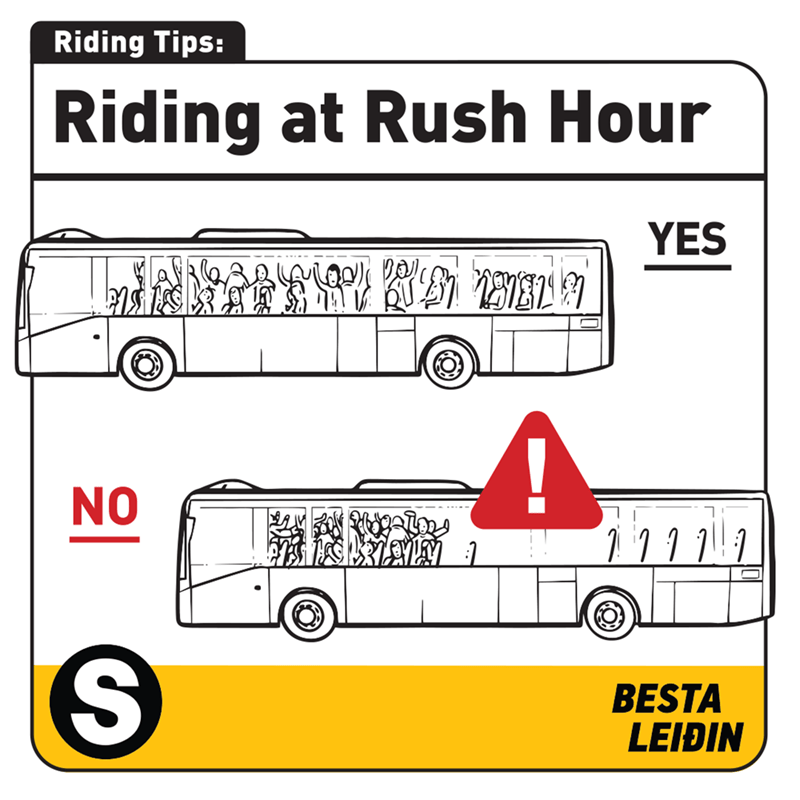 Mode of transport - Riding Tips: Riding at Rush Hour YES NO BESTA LEIÐIN
