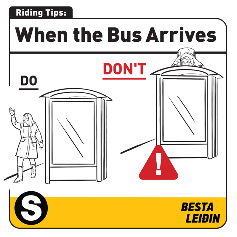 Parallel - Riding Tips: When the Bus Arrives DON'T DO BESTA LEIÐIN