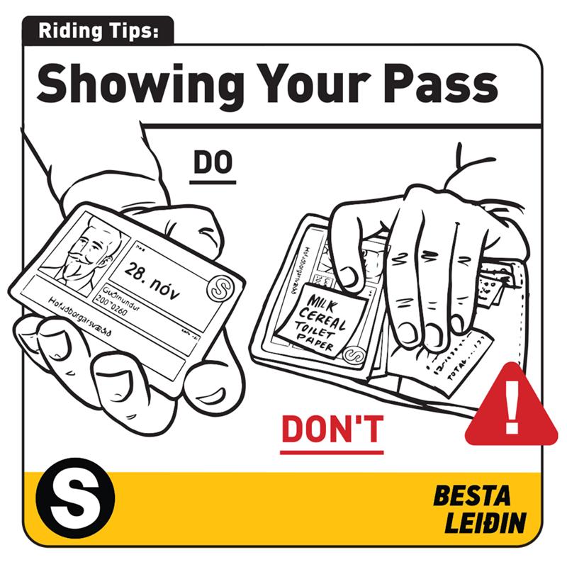 Font - Riding Tips: Showing Your Pass DO MILK ČEREAL 28. nóv TOILET PAPER Guornundur 200 0260 Hofuóborgarsvædid DON'T BESTA LEIÐIN Holusborgars TOTAL