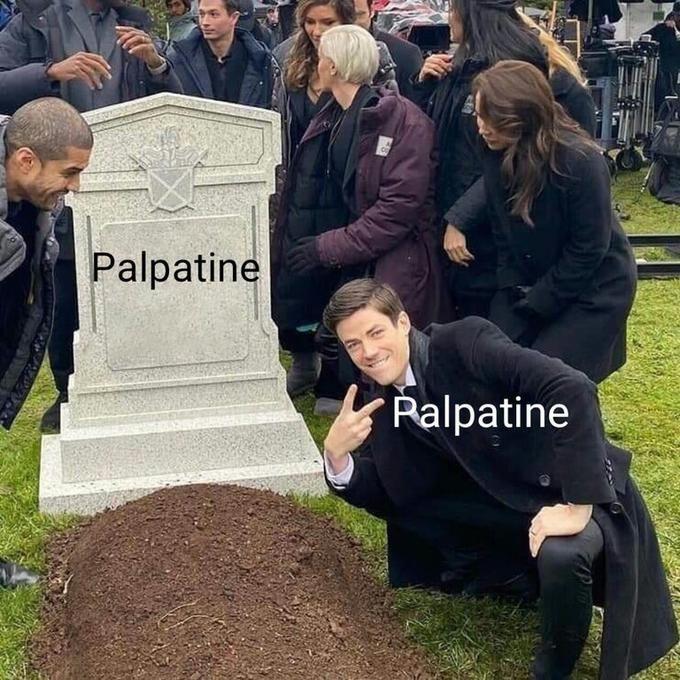 Grave - Palpatine Palpatine