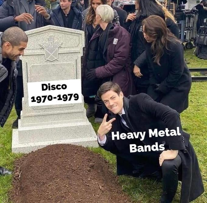 Grave - Disco 1970-1979 Heavy Metal Bands