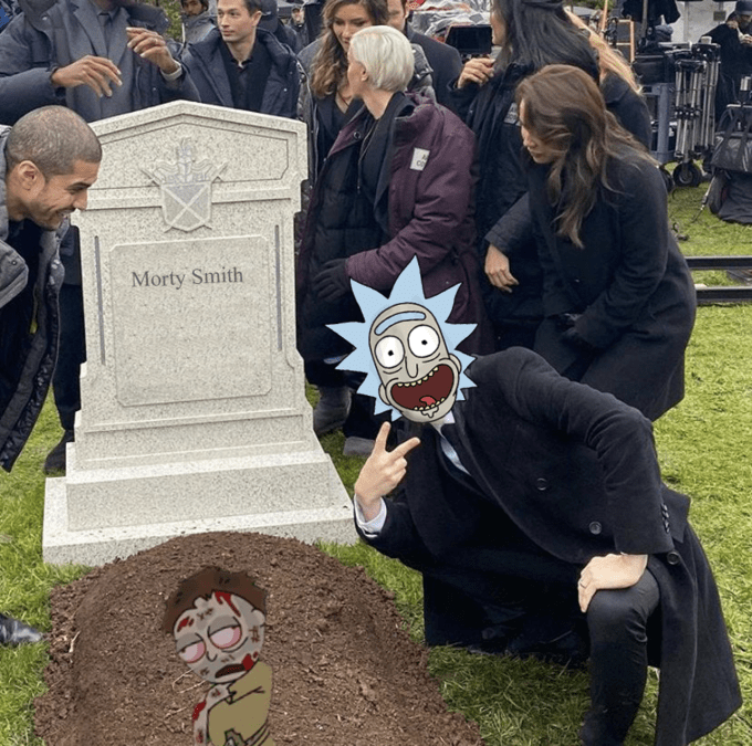 Grave - Morty Smith