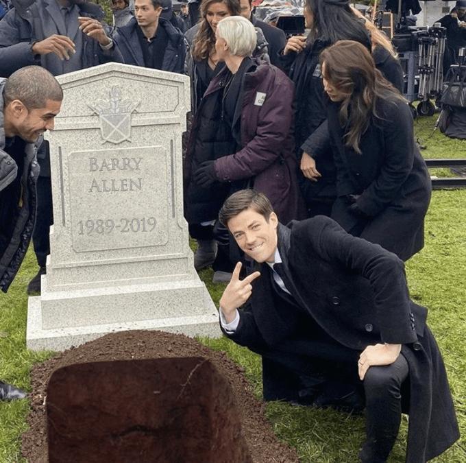Grave - BARRY ALLEN 1989-2019