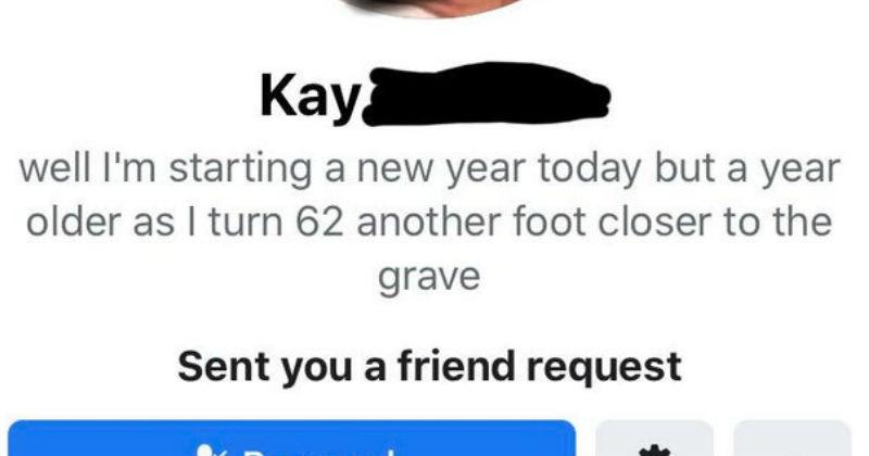 Old people on Facebook