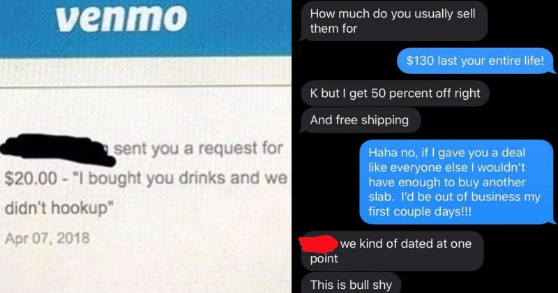 A collection of choosing beggars that want the world to give them stuff for free.