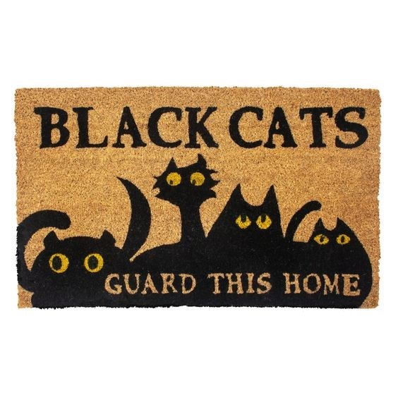 Cat - BLACK CATS GUARD THIS HOME