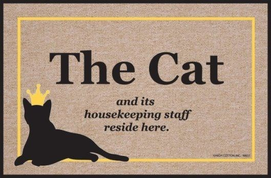 Yellow - The Cat and its housekeeping staff reside here. CHICH COTTONING MOT