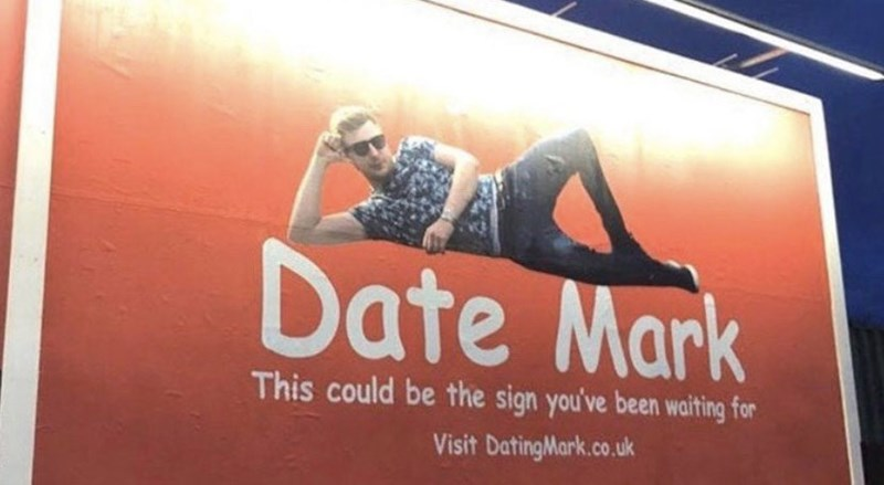 Advertising - Date Mark This could be the sign you've been waiting for Visit DatingMark.co.uk