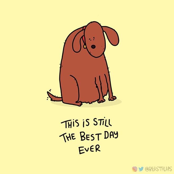 Cartoon - THIS iS STILL THE BEST DAY ΕνER @BEASTFLAPS