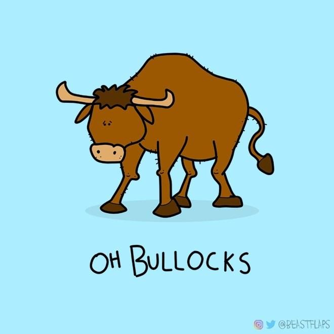 Bovine - OH BULLOCKS @BEASTFLAPS