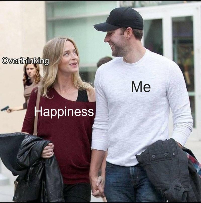 Clothing - Overthinking Me Happiness