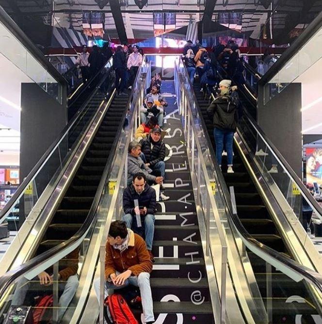 Escalator - @CHAMAPERSA