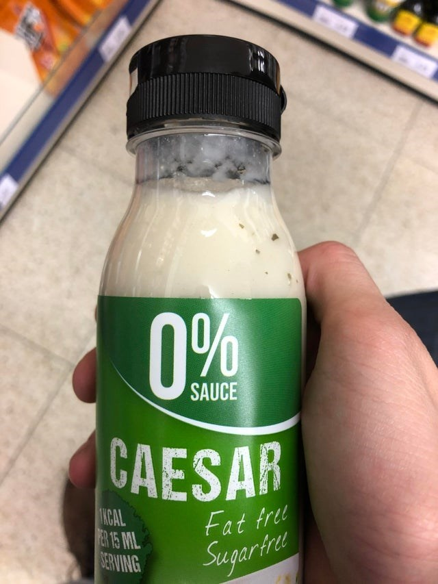 Drink - 0% SAUCE CAESAR KCAL ER 15 ML SERVING Fat frel Sugartre