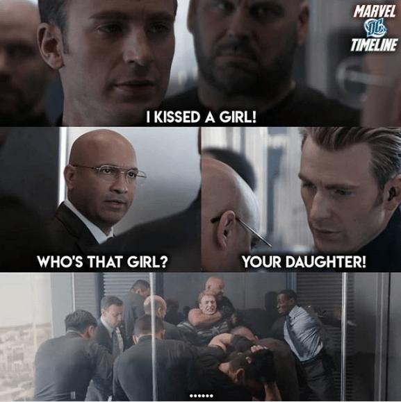 Captain America S Got Dad Jokes For Days In This New Meme