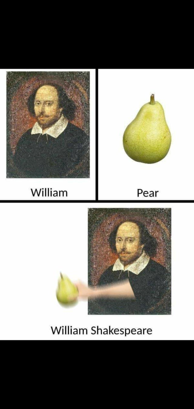 Fruit - Pear William William Shakespeare