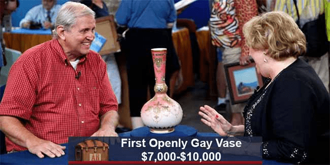 First Openly Gay Vase $7,000-$10,000 AR