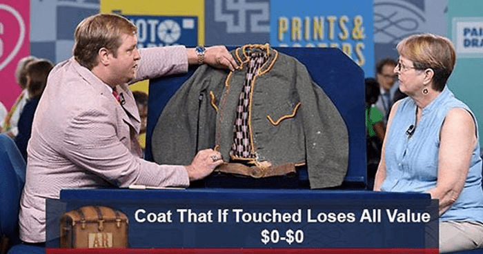 Event - TE PRINTS& PAI DRA Coat That If Touched Loses All Value $0-$0 AR