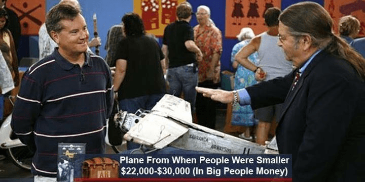 News - Plane From When People Were Smaller $22,000-$30,000 (In Big People Money)