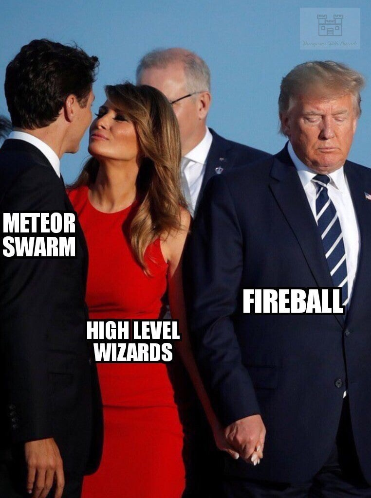 Suit - METEOR SWARM FIREBALL HIGH LEVEL WIZARDS