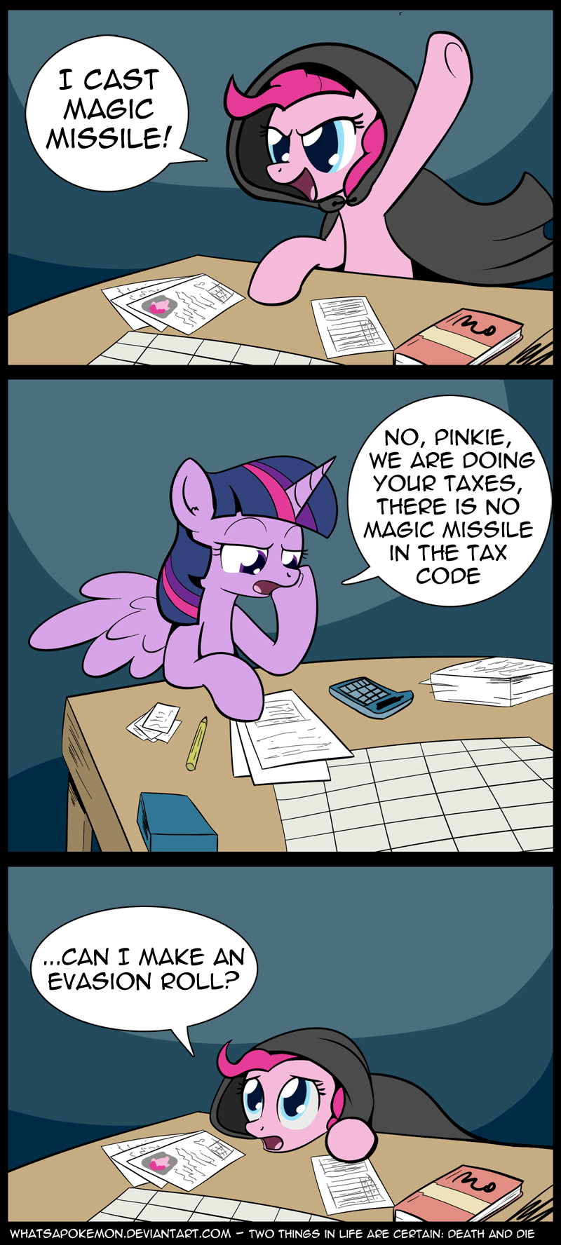 twilight sparkle pinkie pie whatsapokemon dungeons and dragons - 9439239424