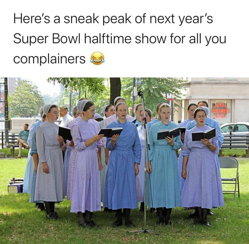 Community - Here's a sneak peak of next year's Super Bowl halftime show for all you complainers MM