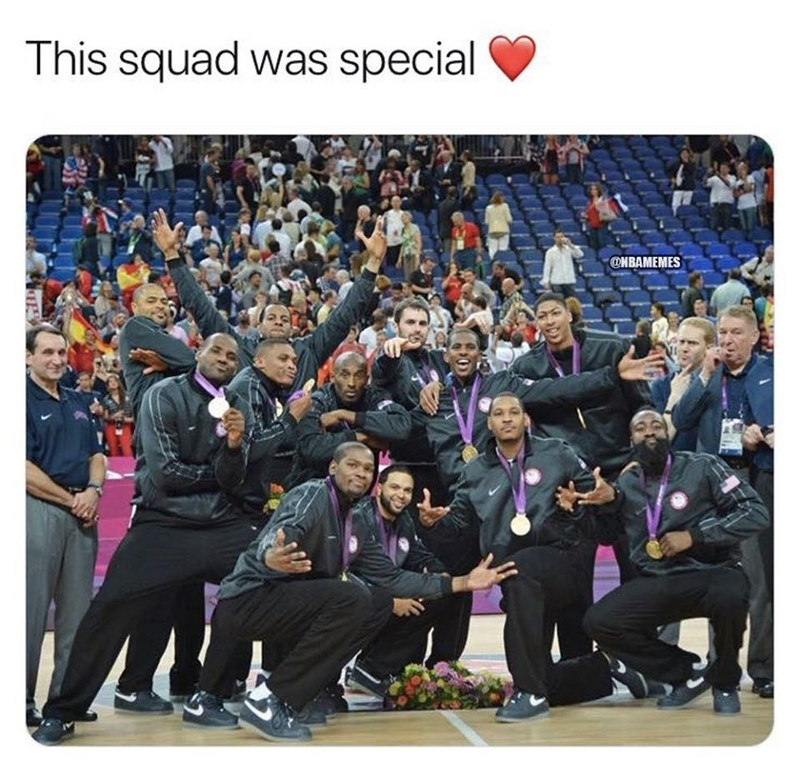 Team - This squad was special @NBAMEMES
