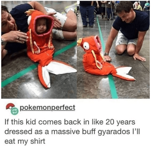 Footwear - pokemonperfect If this kid comes back in like 20 years dressed as a massive buff gyarados l'll eat my shirt