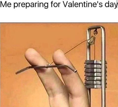 Finger - Me preparing for Valentine's day