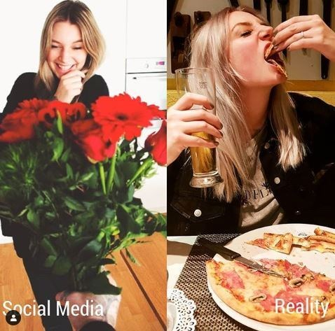 Eating - Reality cial Media