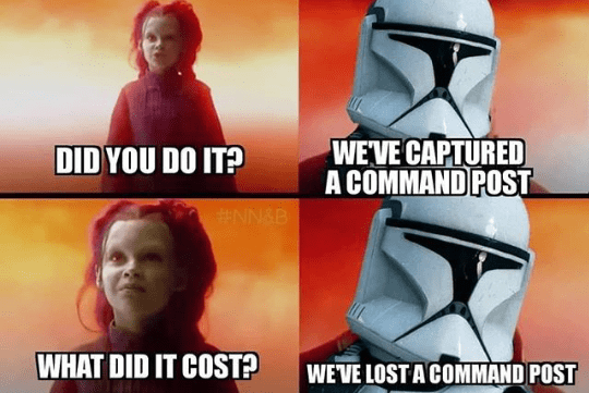 Helmet - WEVE CAPTURED A COMMAND POST DID YOU DO IT? #NN&B WHAT DID IT COST? WEVE LOST A COMMAND POST