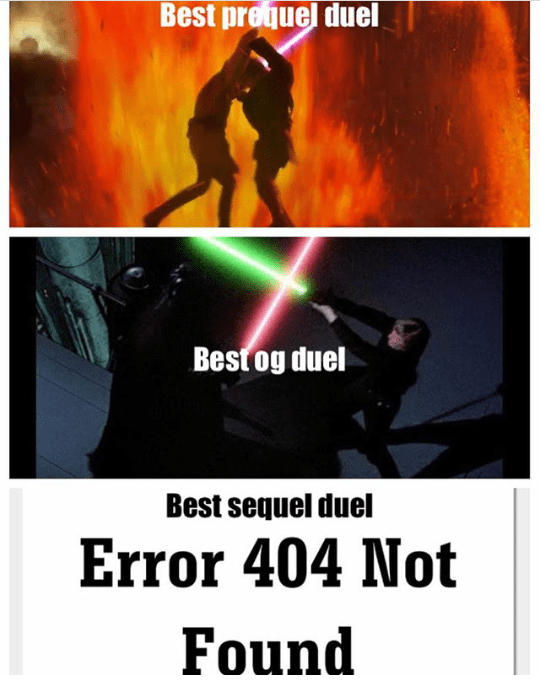 Poster - Best prequel duel Best og duel Best sequel duel Error 404 Not Found