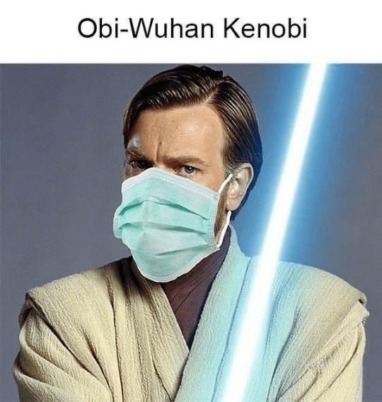 Face - Obi-Wuhan Kenobi
