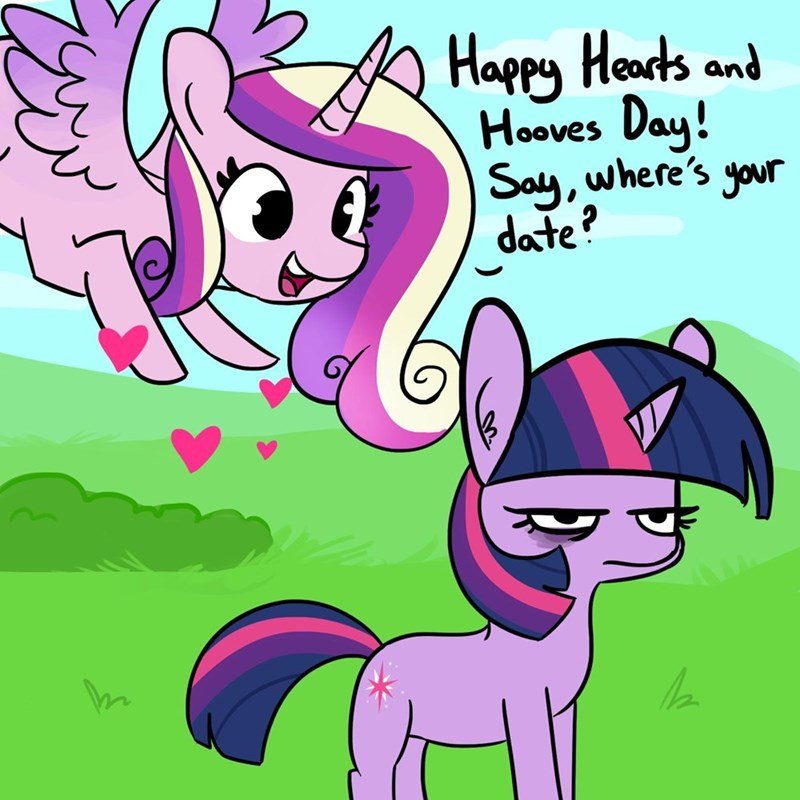 tj pones princess cadence twilight sparkle hearts and hooves day - 9439953920