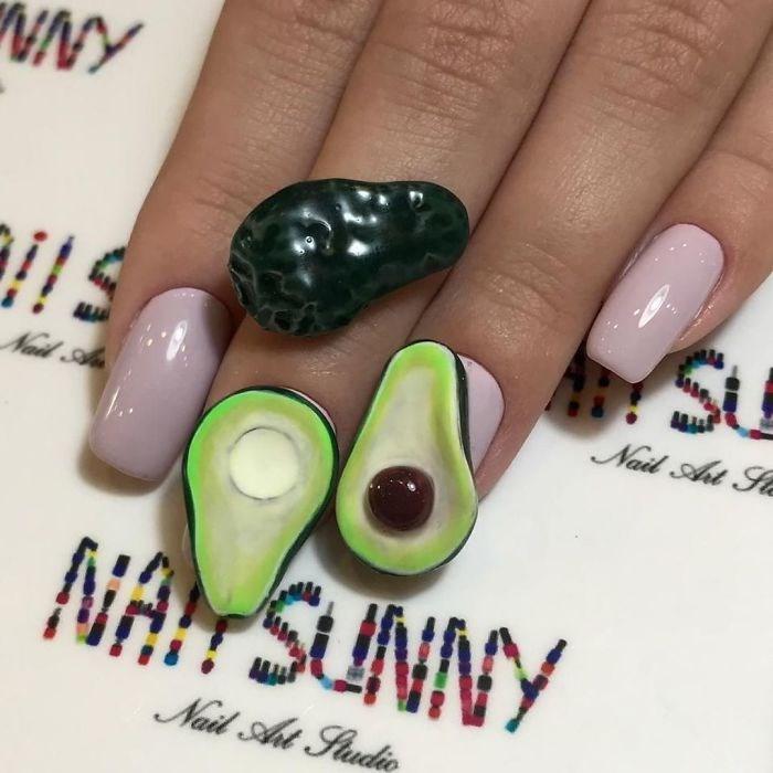 Nail polish - SU Nail Art Se Nail Aa NA SUNNY Nail Aht Studio