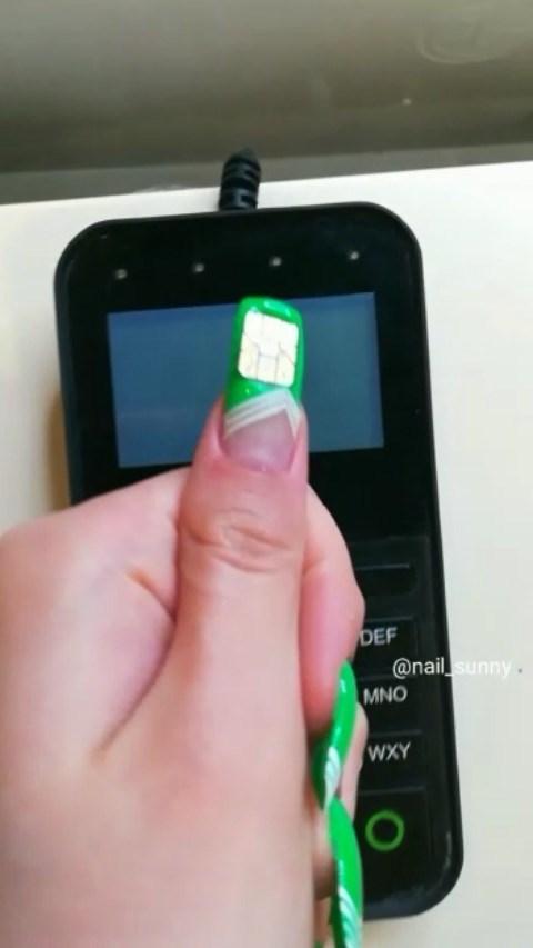Gadget - DEF @nail sunny. MNO WXY